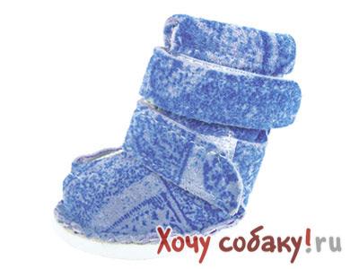 Ботинки из замши для собак - ХочуСобаку.ру